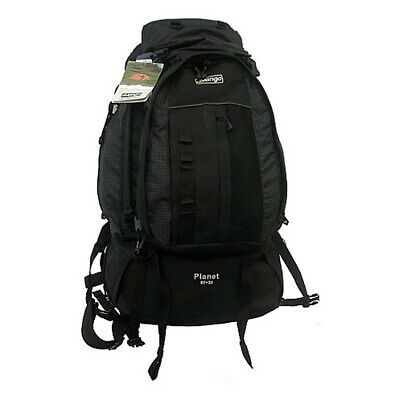 AU189 • Buy Vango Planet 80l + 20l - Black Flec - Rucksack / Backpack (vrs-pl80-5bla)
