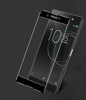 AU12.46 • Buy FULL CURVED EDGE 3D Round TEMPERED GLASS PROTECTOR For Sony Xperia XZ Premium