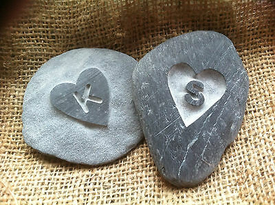 £7.50 • Buy Hand Made Cornish LOVE Pebble, A Perfect Gift For Godparents, Godmummy Daddy
