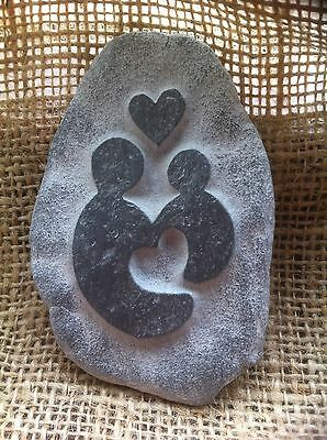 £9 • Buy Handmade Pebble, Perfect Gift For Godparents, Godmother, Godfather, Cornwall