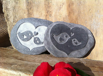 £14 • Buy Hand Carved Baby Bird Stone, Perfect Gift For Godparents, Godmother, Godfather