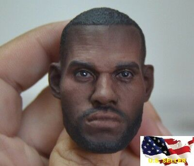$34.64 • Buy 1/6 Scale LeBron James Head Sculpt 2.0 NBA For Enterbay Hot Toys Phicen ❶USA❶