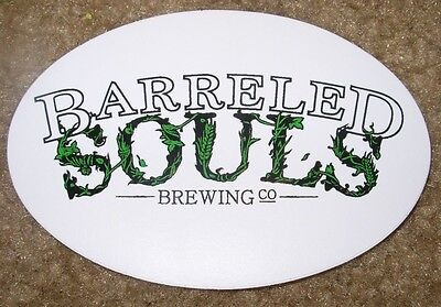 $2.49 • Buy BARRELED SOULS BREWING CO Saco Maine STICKER Craft Beer Brewery Brewing