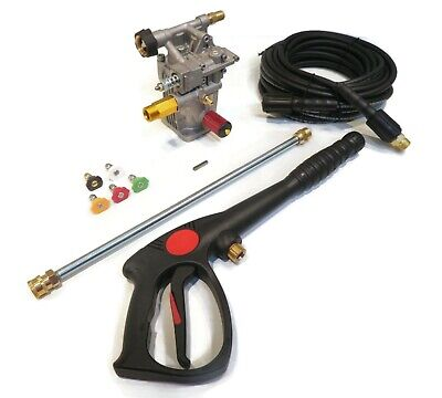 2600 PSI POWER PRESSURE WASHER WATER PUMP & SPRAY KIT PowerStroke  PS80903A • 166.27£