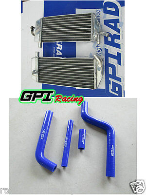 AU145 • Buy Aluminum Radiator AND HOSE For YAMAHA YZ 125 YZ125 2002 2003 2004 02 03 04
