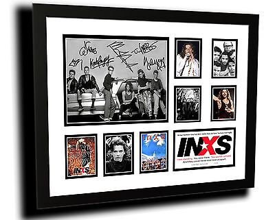 AU85 • Buy Inxs Michael Hutchence Signed Limited Edition Framed Memorabilia