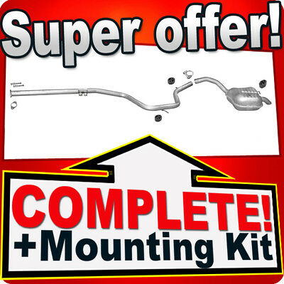 Ford Mondeo IV 1.8 2.0 TDCi Without DPF Since 07 Exhaust Silencer D29 • 75£