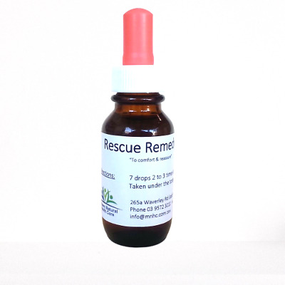 Dr Bach's Rescue Remedy 25ml  For Stress, Anxiety, Worry - Also Great For Pets • 5.27£