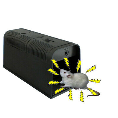 Electronic Mouse Rat Rodent Killer Electric Zapper Trap No Poison Pest Control • 24.59£