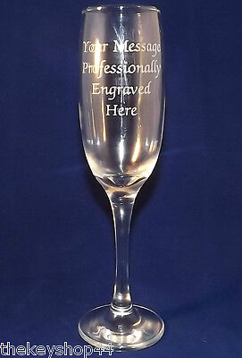 PERSONALISED PROSECCO GLASS FREE ENGRAVING BIRTHDAY GIFT 18th 21st 25th 30th  • 8.99£