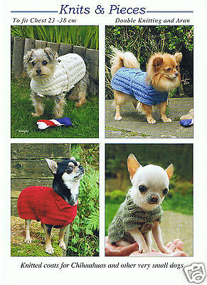 £3.50 • Buy Chihuahua Coats Knitting  Pattern Also Suitable For Other Very Small Dogs Kp06