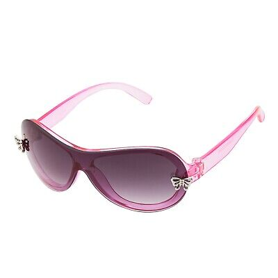 Pink Girls Butterfly Kids Childrens Sunglasses UV400 Fashion Over Size Glasses • 6.99£