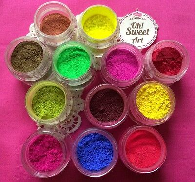 Petal Dust PICK YOUR COLOR By OH SWEET ART Products 4g Cake Decorating • 2.10£