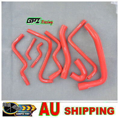 AU150 • Buy RED FOR COMMODORE VT-VX STATESMAN WH Supercharged 3.8L V6 L67 Silicone Hose