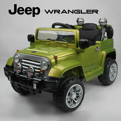 Kids Ride On Jeep Wrangler Childrens 12v Battery Remote Control Toy Car / Cars • 139.99£