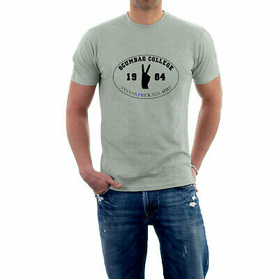 Scumbag College T-shirt. Young Ones Tribute Tee. S- 5XL University Challenge • 13.50£