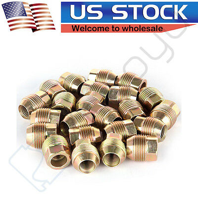 $26.01 • Buy M14x1.5 1.04 24 Piece Open End Lugs Nuts Fits Chevy GMC GM Factory Style Lugs