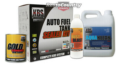 AU147.90 • Buy KBS Auto Car Fuel Tank Sealer Repair Kit Rust And Corrosion Prevention Degreaser
