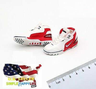 $18.99 • Buy 1/6 Male Sneakers Basketball LeBron Shoes 12  Phicen Enterbay Kobe Hot Toys❶USA❶