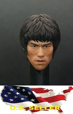 $36.74 • Buy Zc Toys 1/6 Bruce Lee Head Sculpt For Hot Toys Enterbay Way Of The Dragon ❶USA❶