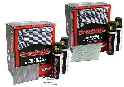 Firmahold Paslode 2nd Fix 16g Finishing Nails Brad Angled/Straight Opt. Gas • 23.95£