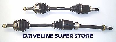 AU233 • Buy A Set Of Two NEW CV JOINT DRIVE SHAFTS FORD FOCUS  LR 2.0L MANUAL 2002-04
