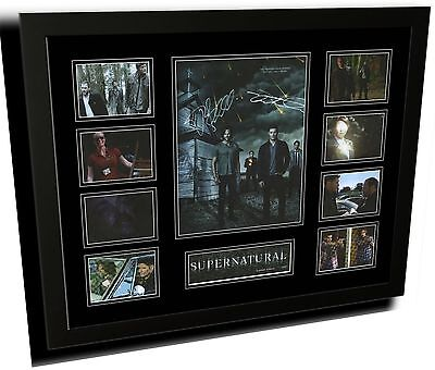 AU88.99 • Buy Supernatural Jenson Ackles Signed Limited Edition Framed Memorabilia