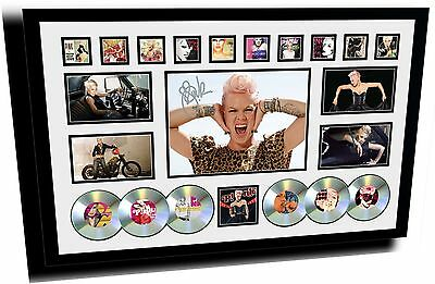 AU174.99 • Buy New Pink Signed Limited Edition Framed Memorabilia