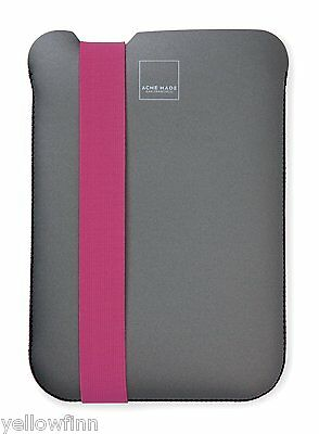 £4.99 • Buy Acme Made Skinny Sleeve Slip Case Cover For IPad 2, 3, 4 - Grey / Pink