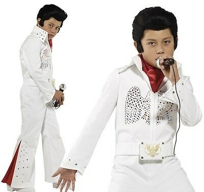 £32.99 • Buy Childs Boys Officially Licensed Deluxe Elvis Fancy Dress Costume By Smiffys