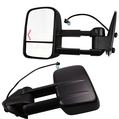 $91.96 • Buy Power Heated LED Signals Tow Mirrors For 03-06 Chevy Silverado 1500/2500/HD/3500