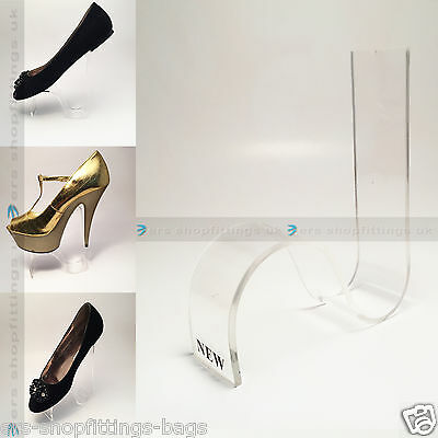 Shoe Display Acrylic Stand Raiser Counter Shelf Sh2 • 4.99£