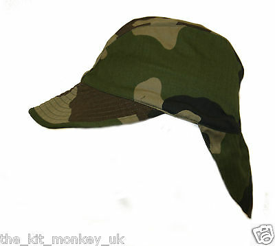 £5.99 • Buy French Army / Foreign Legion Combat Warm Weather Hat CCE Camo Peaked Cap