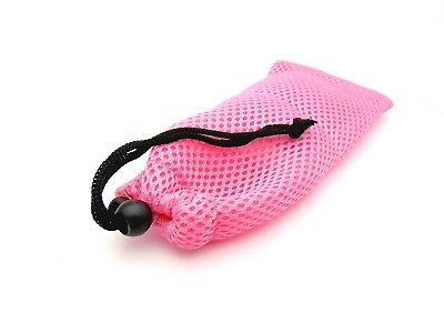 Glasses Phone Case Spectacles Pouch Pink Mesh Mp3 Carry Case Soft Vinyl Cloth • 2.99£