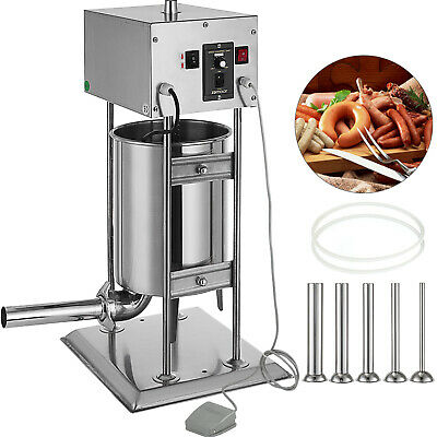 AU408.54 • Buy Commercial Electric Sausage Filler Stuffer 10L Meat Vertical Machine Shop 40W