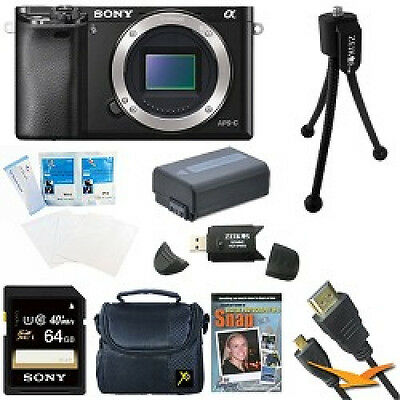 $ CDN856.13 • Buy Sony Alpha A6000 24.3MP Interchangeable Lens Camera Body Only 64GB Kit