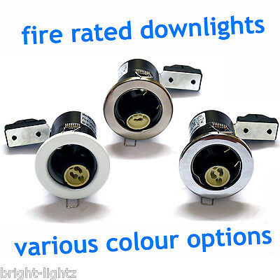 £59.99 • Buy 20 X Fire Rated Mains GU10 240V LED Recessed Ceiling Spotlights Downlights UK