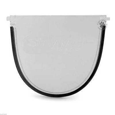Staywell Replacement Cat Flap Polycarbonate Spare Door PAC26-11459 • 14.99£