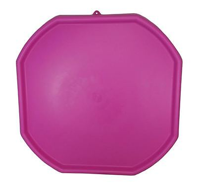 Large Plastic Builders PINK MIXING TRAY Cement Mortar Sand Plastering Tuff Spot • 24£