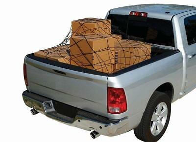 $19.95 • Buy Cargo Net Bed Tie Down Hooks For Truck Pickup Compact Size 60  X 78  BRAND NEW