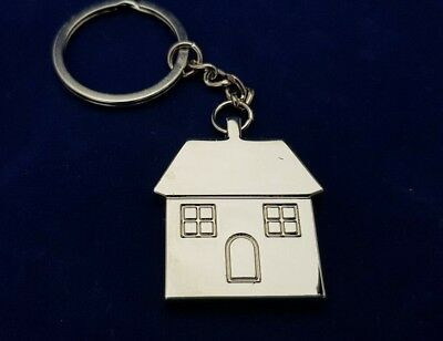 £5.69 • Buy Personalised House Keyring Engraved Free New House Gift First Home Gift