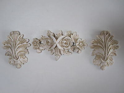 £11.95 • Buy Shabby Chic Decorative French Country  Moulding Set  Furniture /fire Surround