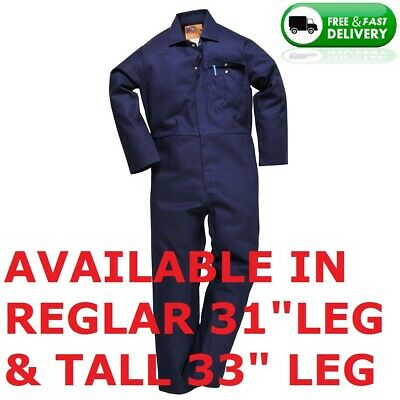 £21.60 • Buy 100% Cotton Welding Coveralls / Overalls,welding,grinding,navy Blue, All Sizes
