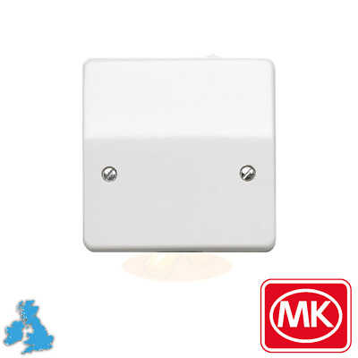 Mk K5045whi White Cooker Outlet Flex Connection Unit Plate • 6.95£