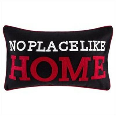 £8.99 • Buy No Place Like Home Cushion Pillow Complete Cover + Filling Home Sofa Bedroom New