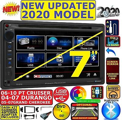 $229.99 • Buy 04-10 Pt Cruiser Durango Grand Cherokee Cd/dvd Bluetooth Usb Aux Car Stereo Pkg