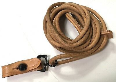 Wwi Wwii German P08 P-08 Luger Pistol Leather Lanyard Strap • 17.60£