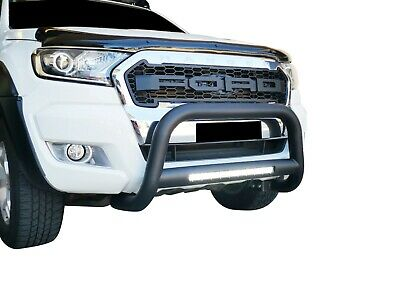 AU330 • Buy Black Nudge Bar 3  100W LED Light Bumper Guard For Ford Everest 15-19