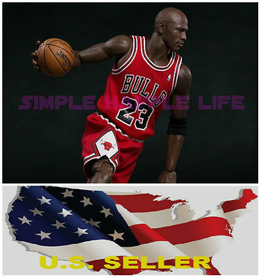 $23.61 • Buy  Custom 1/6 Michael Jordan Red Chicago Bulls Jersey 23 For Enterbay Body ❶USA❶