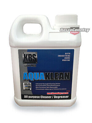 AU52.50 • Buy KBS Aqua Klean 4 Litre AquaKlean Clean Degreaser Four 4L Cleaner